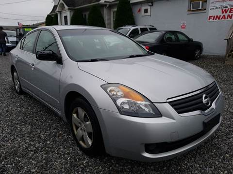 2008 Nissan Altima 2.5 S for sale at Reyes Automotive Group in Lakewood NJ