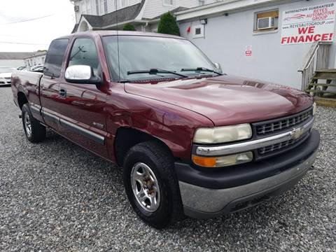 2002 Chevrolet Silverado 1500 LS for sale at Reyes Automotive Group in Lakewood NJ