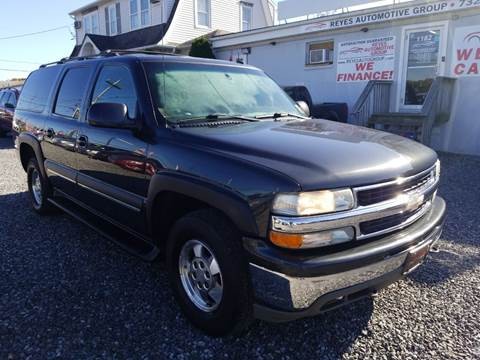 2003 Chevrolet Suburban 1500 LT for sale at Reyes Automotive Group in Lakewood NJ