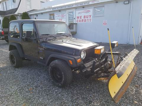 1998 Jeep Wrangler Sport for sale at Reyes Automotive Group in Lakewood NJ