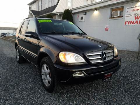 2003 Mercedes-Benz M-Class ML 500 for sale at Reyes Automotive Group in Lakewood NJ