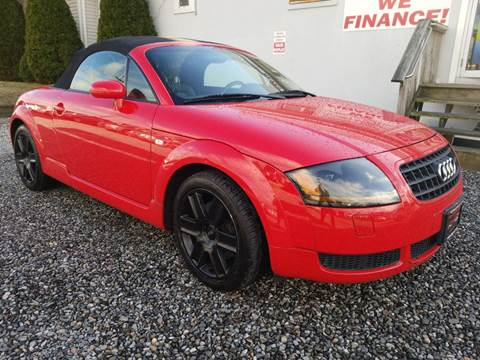 2003 Audi TT 180hp for sale at Reyes Automotive Group in Lakewood NJ