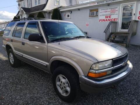 2000 Chevrolet Blazer LS for sale at Reyes Automotive Group in Lakewood NJ