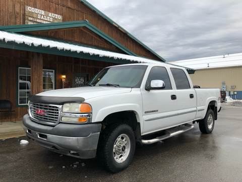 2002 GMC Sierra 2500HD for sale in Hayden, ID
