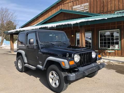 2003 Jeep Wrangler for sale in Hayden, ID
