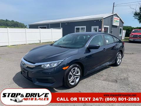 2016 Honda Civic for sale in East Windsor, CT