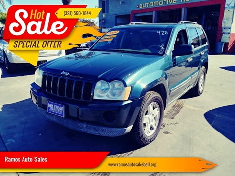 Ramos Auto Sales >> Jeep Grand Cherokee For Sale In Bell Ca Ramos Auto Sales