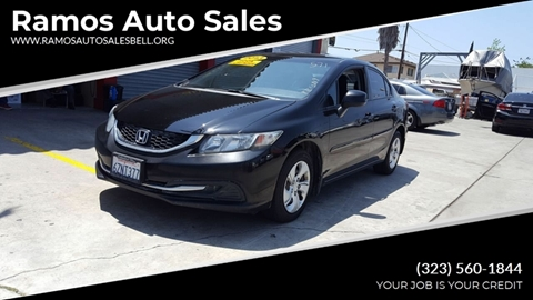 Ramos Auto Sales >> Honda Civic For Sale In Bell Ca Ramos Auto Sales