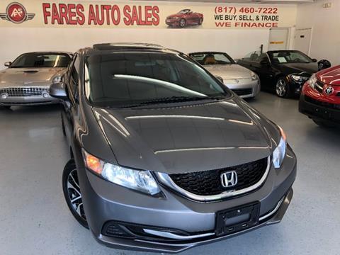 2013 Honda Civic for sale in Arlington, TX