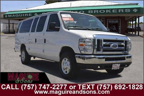 2012 Ford E-Series Wagon for sale in Virginia Beach, VA