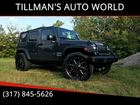2017 Jeep Wrangler Unlimited for sale in Greenwood, IN
