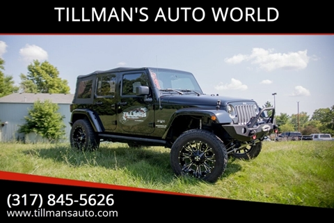 2016 Jeep Wrangler Unlimited for sale in Greenwood, IN