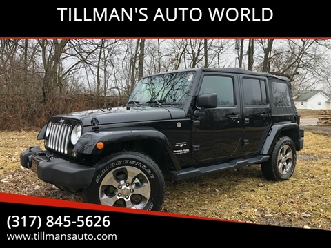 2018 Jeep Wrangler Unlimited for sale in Greenwood, IN
