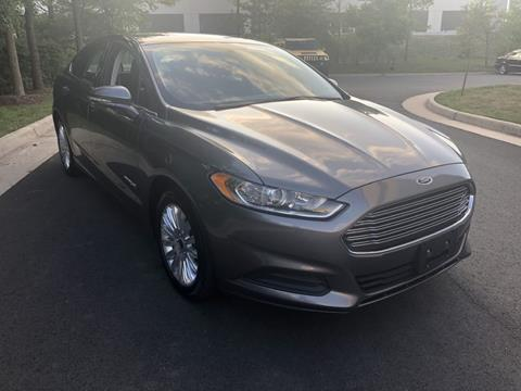 2014 Ford Fusion Hybrid for sale in Chantilly, VA