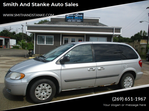 2006 Chrysler Town and Country for sale at Smith and Stanke Auto Sales in Sturgis MI
