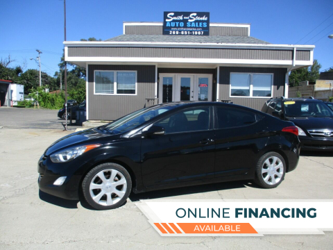 2012 Hyundai Elantra for sale at Smith and Stanke Auto Sales in Sturgis MI