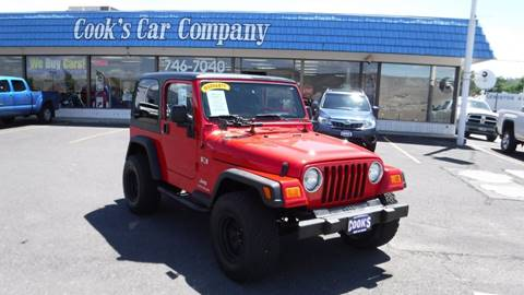2006 Jeep Wrangler for sale in Lewiston, ID