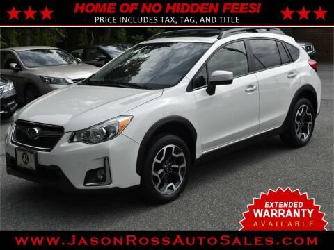 2017 Subaru Crosstrek for sale at Jason Ross Auto Sales in Burlington NC