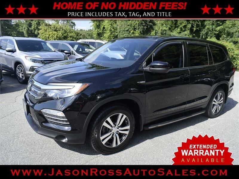 2016 Honda Pilot for sale at Jason Ross Auto Sales in Burlington NC