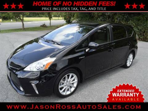 2012 Toyota Prius v for sale at Jason Ross Auto Sales in Burlington NC