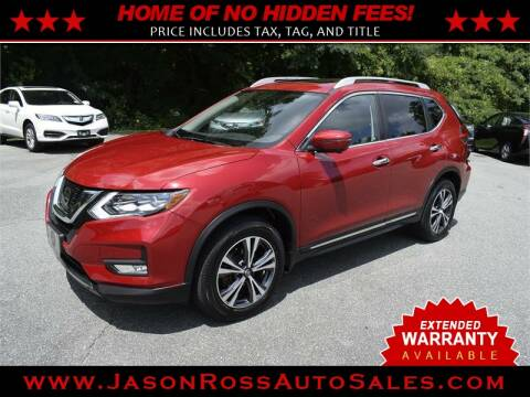 2017 Nissan Rogue for sale at Jason Ross Auto Sales in Burlington NC
