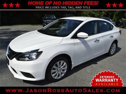 2017 Nissan Sentra for sale at Jason Ross Auto Sales in Burlington NC