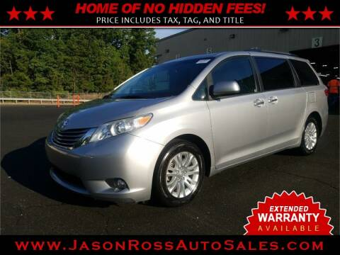 2015 Toyota Sienna for sale at Jason Ross Auto Sales in Burlington NC