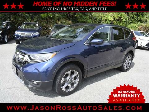 2017 Honda CR-V for sale at Jason Ross Auto Sales in Burlington NC