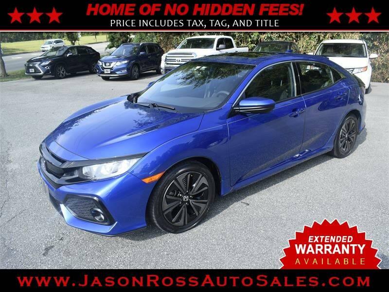 2017 Honda Civic for sale at Jason Ross Auto Sales in Burlington NC