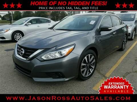 2017 Nissan Altima for sale at Jason Ross Auto Sales in Burlington NC