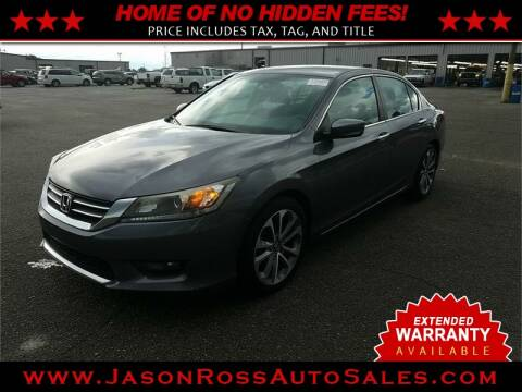 2015 Honda Accord for sale at Jason Ross Auto Sales in Burlington NC