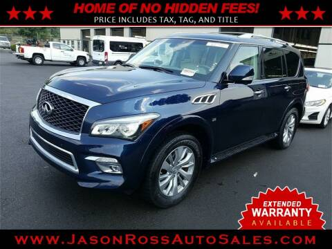 2017 Infiniti QX80 for sale at Jason Ross Auto Sales in Burlington NC