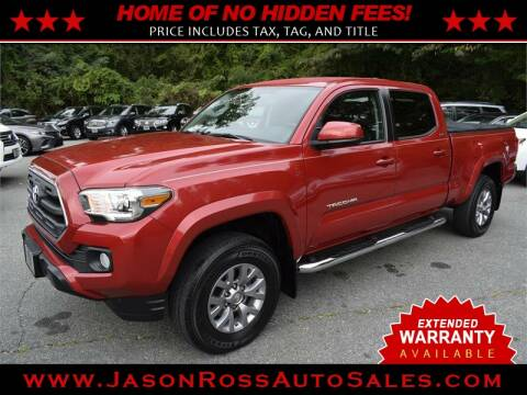 2017 Toyota Tacoma for sale at Jason Ross Auto Sales in Burlington NC