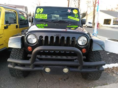 2009 Jeep Wrangler Unlimited for sale in Milford, CT