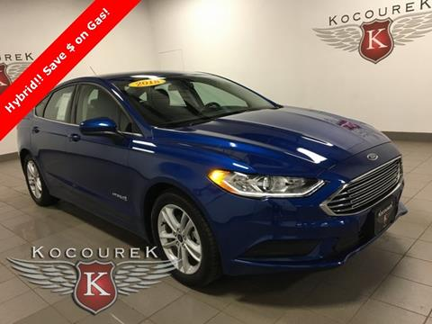 2018 Ford Fusion Hybrid for sale in Wausau, WI