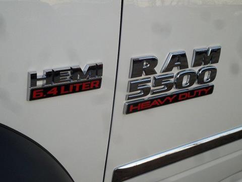 2018 RAM Ram Chassis 5500