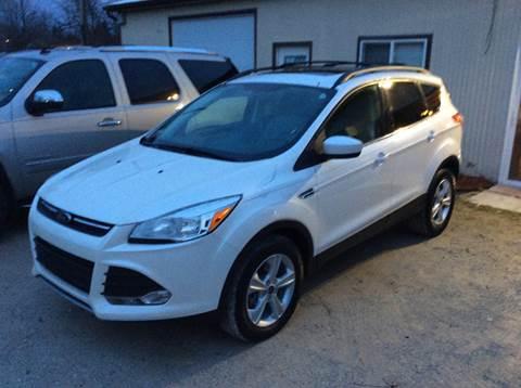 2013 Ford Escape for sale in Lexington, MI