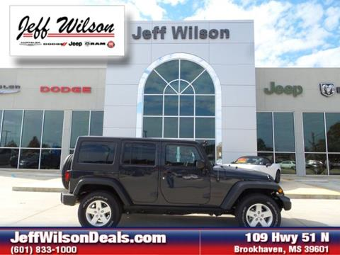 2016 Jeep Wrangler Unlimited for sale in Brookhaven, MS
