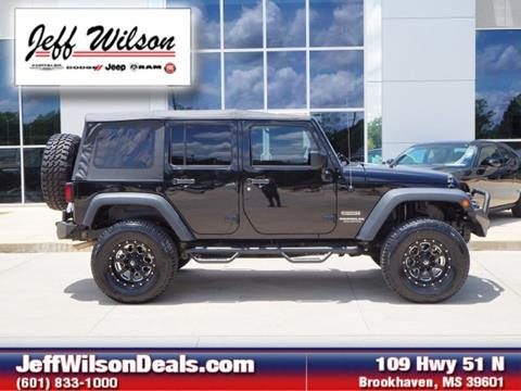 2015 Jeep Wrangler Unlimited for sale in Brookhaven, MS