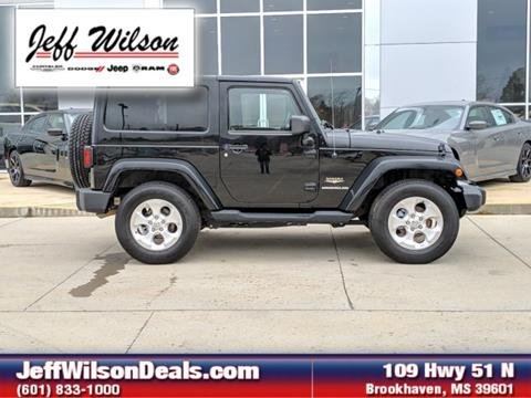 2013 Jeep Wrangler for sale in Brookhaven, MS