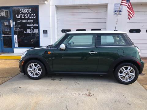 Virginia Auto Sales Tax >> 2011 Mini Cooper For Sale In Richmond Va