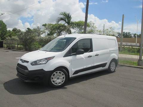 Ford Cargo Van For Sale >> 2015 Ford Transit Connect Cargo For Sale In Miami Fl