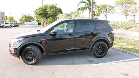 2017 Land Rover Discovery Sport for sale at Quality Motors Truck Center in Miami FL