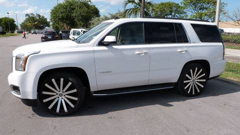 2015 GMC Yukon for sale at Quality Motors Truck Center in Miami FL