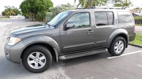 2008 Nissan Pathfinder for sale at Quality Motors Truck Center in Miami FL