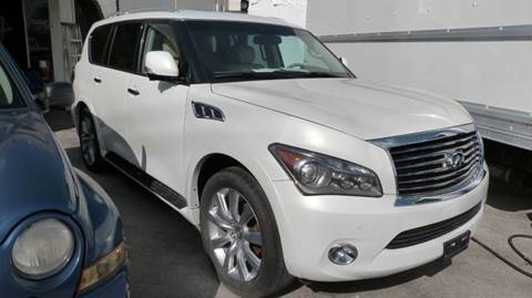 2012 Infiniti QX56 for sale at Quality Motors Truck Center in Miami FL