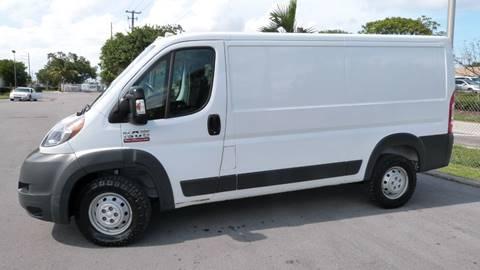 2015 RAM ProMaster Cargo for sale at Quality Motors Truck Center in Miami FL