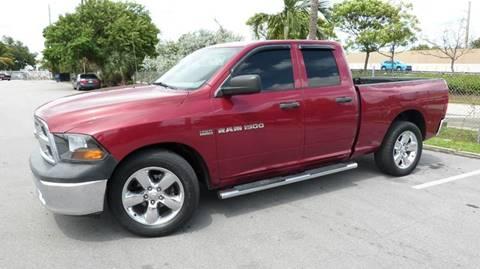 2011 RAM Ram Pickup 1500 for sale at Quality Motors Truck Center in Miami FL