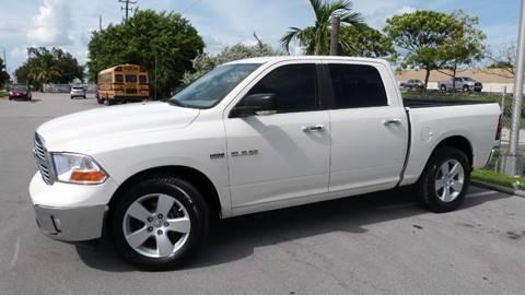 2009 Dodge Ram Pickup 1500 for sale at Quality Motors Truck Center in Miami FL