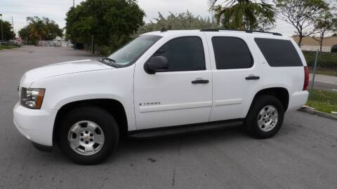 2009 Chevrolet Tahoe for sale at Quality Motors Truck Center in Miami FL